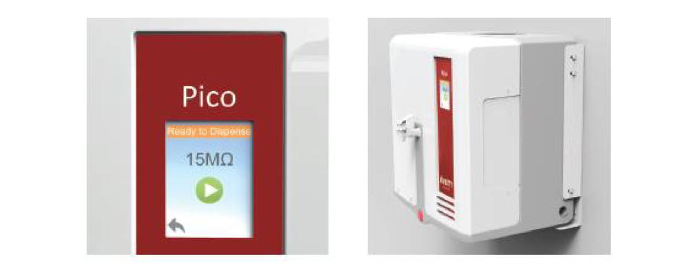 余計な機能を持たないシンプルで簡単な操作 壁掛け設置も可能で、省スペース化を実現